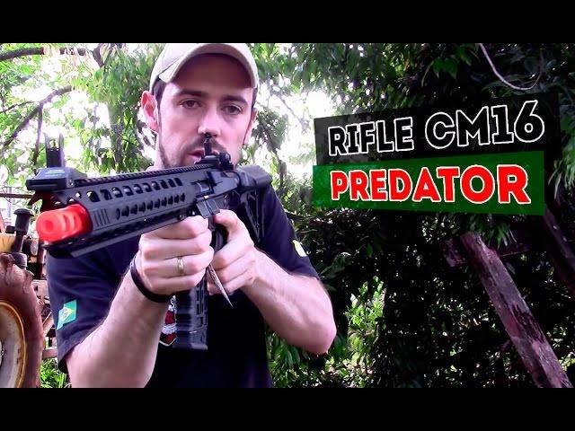 Rifle airsoft CM16 Predator: Conheça esse rifle de airsoft incrível e moderno - Airsofts