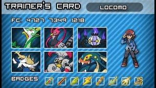 My Pokemon Team  (Gen. 1-7)
