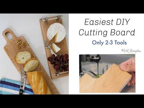 Easiest DIY Cutting Board