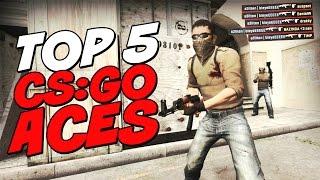 CS: GO Top-5 ACES! Пилотный выпуск!