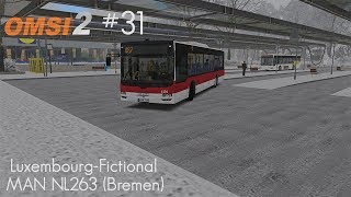 OMSI 2 #31 | Luxembourg-Fictional | MAN NG 313 (Bremen) | 487 ► Girst-Gare