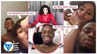 vuclip VIDEO YA UTUPU YA DIAMOND PLATNUMZ, HAMISA MOBETO NA MZUNGU WAKE ZARI THE BOSSLADY ALIPIZA KISASI