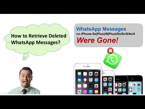how to see deleted messages on iphone how to retrieve deleted whatsapp messages amp photos on 20288
