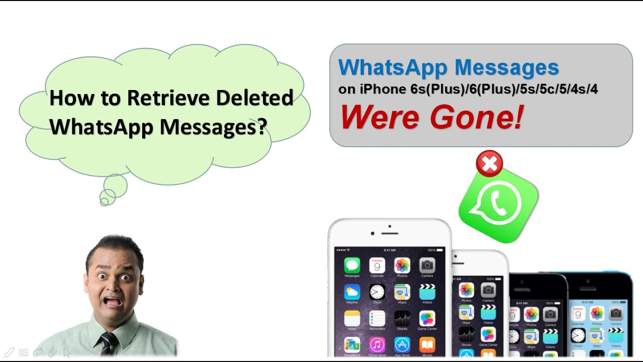 iphone 5s messages how to retrieve deleted whatsapp messages amp photos on 11218