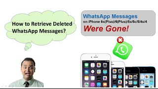 How to Retrieve Deleted WhatsApp Messages & Photos on iPhone se/6s/6/5s