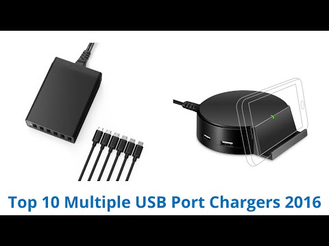 10 Best Multiple USB Port Chargers 2016
