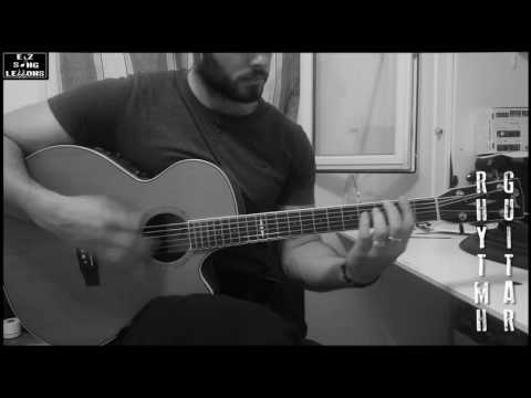 What Went Wrong - Blink 182 [Rhythm Guitar Acoustic Cover/Lesson with TAB/Score]