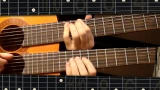 Guitar lesson Yiruma River flows in you part 2