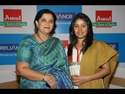 Sunidhi Chauhan At Amul's 'Mero Gaam Kathaparre' Video Launch