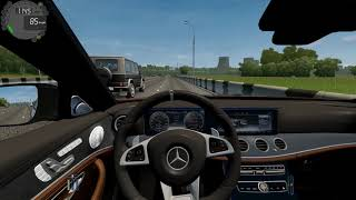 City Car Driving - Mercedes-Benz E63S AMG | Normal Driving