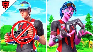 Team BH KEYBOARD Players Try Controller on Mongraals EDIT COURSE for $1,000... *Horrible*
