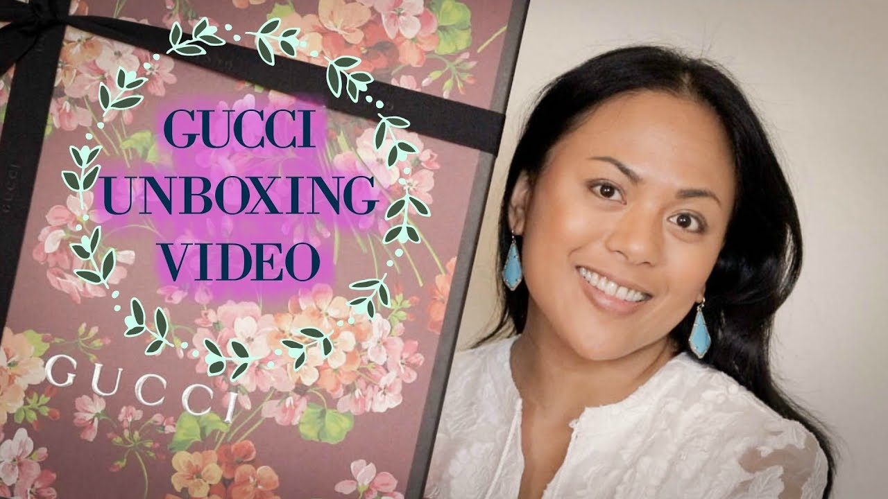 4e0e740cc Gucci Unboxing - Dionysus Supper Mini & Reversible GG Blooms Medium Tote