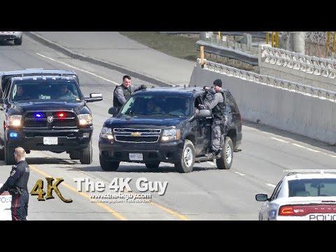 Mississauga: Tactical & K9 responding to stabbing 3-20-2016