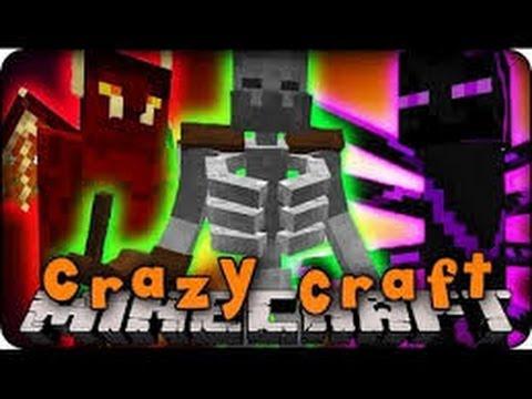 Minecraft Crazy Craft [S1E4] | Killer Creeper