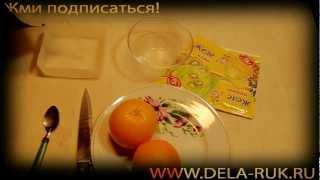 видео Рецепт желе на апельсиновых корках – для десерта и торта