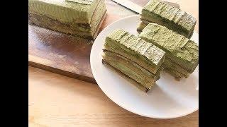 抹茶歐培拉蛋糕 Matcha opera cake
