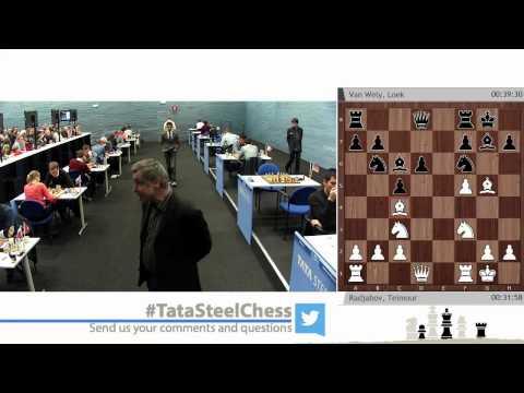 Round 1 - Tata Steel Chess Tournament 2015