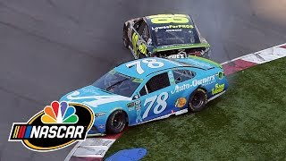 Charlotte Roval: Jimmie Johnson out of playoffs after final lap crash I NASCAR I NBC Sports