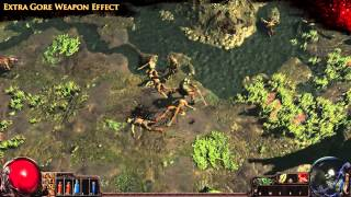 Path of Exile - Extra Gore Weapon Effect