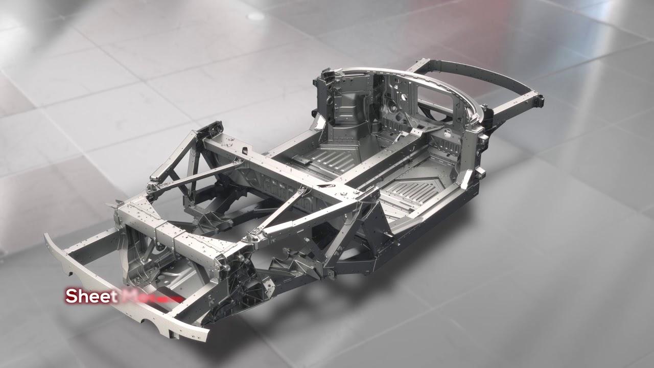 Ferrari 458 chassis