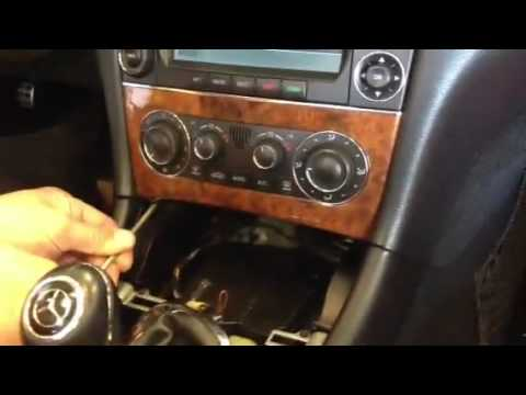 hqdefault 2006 mercedes benz clk350 radio dash removal how to diy youtube 2006 Mercedes CLS500 Interior at fashall.co