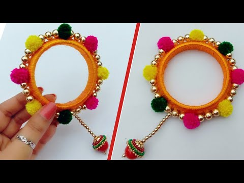Navratri Special Jewellery/Bangles Making/useful & easy