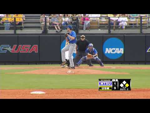 Southern Miss Baseball vs Middle Tennessee State Game 2 - 04.21.18