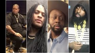 Rappers Getting Confronted With Their Own Bars Compilation Waka Flocka, Busta Rhymes, Wycleff Trae D
