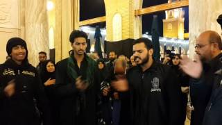 Sarfaraz Hussain Khan In Iraq Ziyarat 2015 Noha Ali Akbar AS