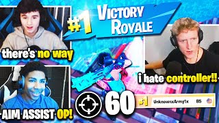 UNKNOWN *DOMINATES* TFUE BUGHA & CLIX and WINS SOLO CASH CUP! Fortnite Competitive