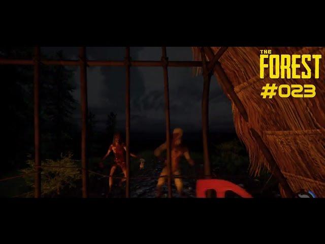 Let's Play The Forest | Nächtliche Partys im Ferienhaus | Folge #023