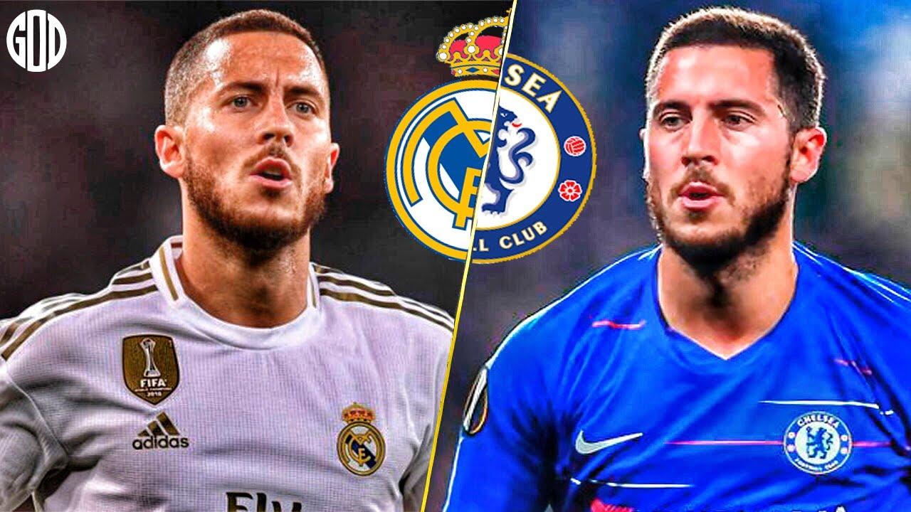 Hazard in Chelsea vs Hazard in Real Madrid | HD - YouTube