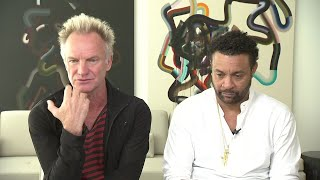 Sting had to force Shaggy to sing