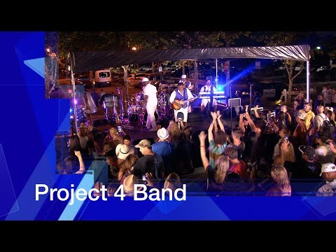 "City of Tracy: Downtown Block Party ""Project 4 Band"" July 21st 2017"