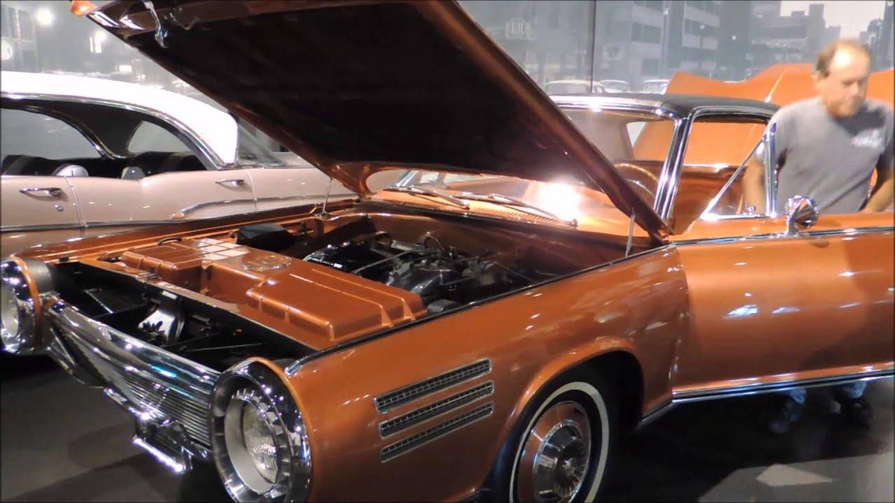 Chrysler Turbine Car: 1964 Chrysler Turbine Car Start