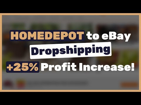 This simple method increased my Homedepot dropshipping stores' profits by over 25%! thumbnail