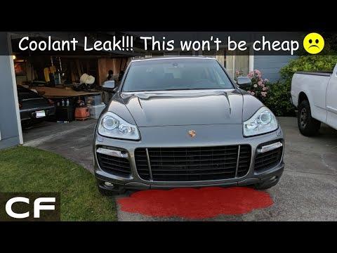 Expensive coolant leak fix on my Porsche Cayenne Turbo!