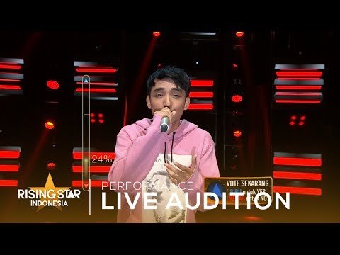 Reza Darmawangsa Die In Your Arms   Audition 2  Rising Star Indonesia 2019