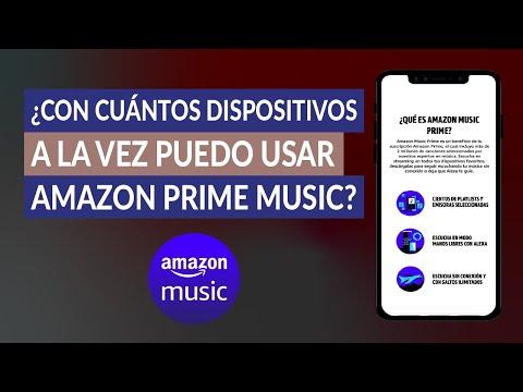 ¿Con Cuántos Dispositivos a la vez Puedo Usar Amazon Prime Music? Límite de Dispositivos