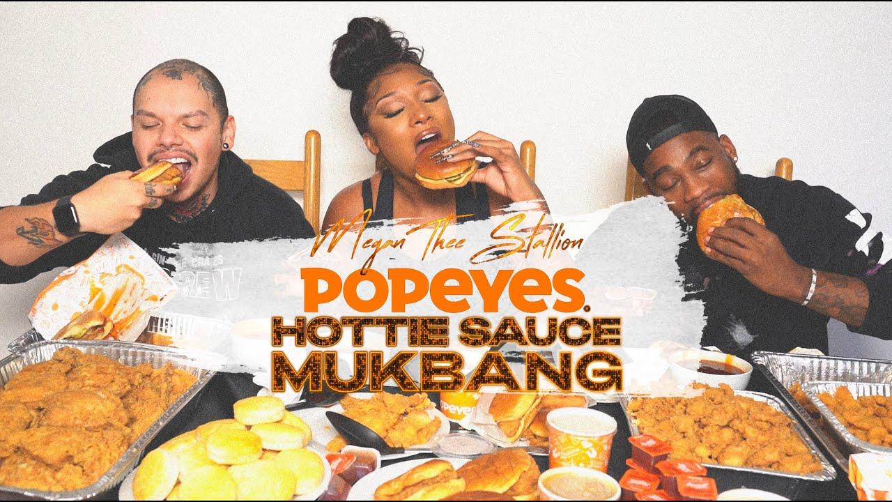 Megan Thee Stallion - Hottie Sauce Mukbang