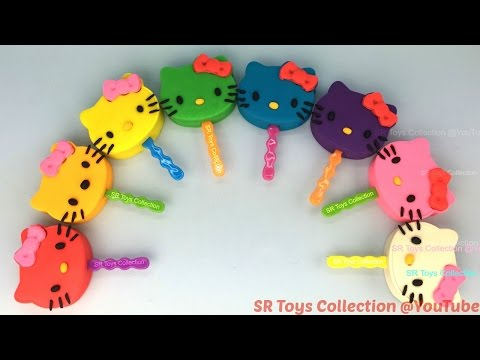Play Doh Hello Kitty Lollipops With Molds Fun And Creative For Everyone