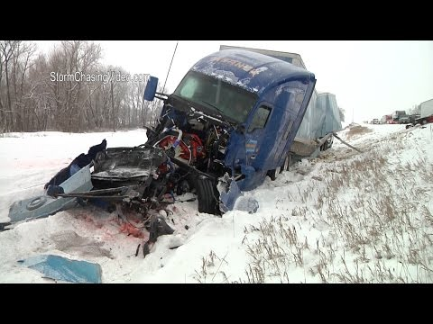 Southern Minnesota and Northern Iowa Winter Storm Live - 11/20/2015