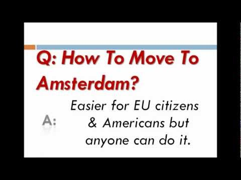 How To Move To Amsterdam?