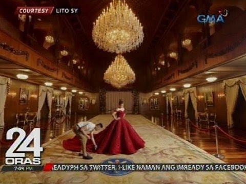 Apo ng pangulo na si Isabelle Duterte, nag-pre-debut pictorial sa Malacañang