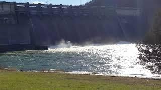 2019 01 06 Wolf Creek Dam Lake Cumberland tailwaters trout fishing
