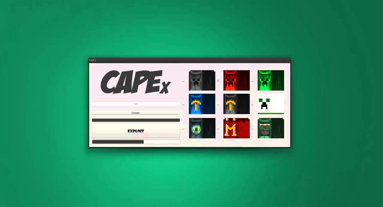 CapeX - Kostenlose Minecraft Capes [OHNE MOD!!] - YouTube