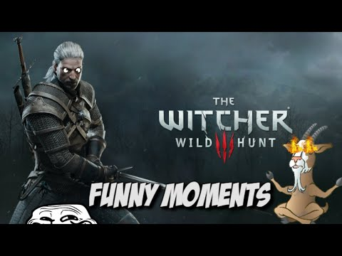THE GOAT OF WAR!? - The Witcher 3 Wild Hunt: Funny Moments!