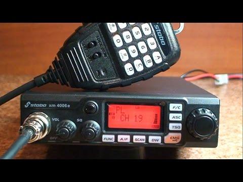 Stabo xm 4006e - Zanim kupisz cb radio - Test # 33