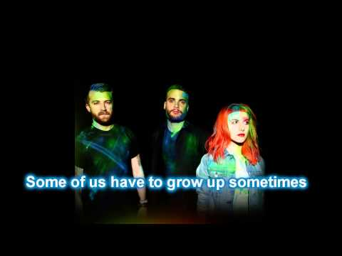 Paramore - Grow Up Karaoke Cover Instrumental