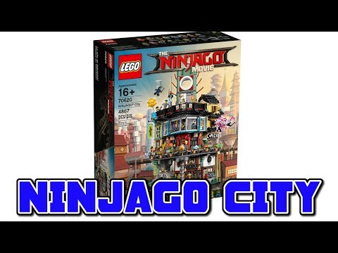 NINJAGO CITY SET! - The LEGO Ninjago Movie (2017)